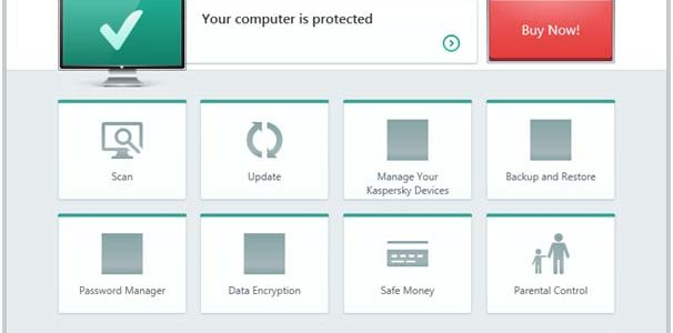 kaspersky total security 2018 computer protected