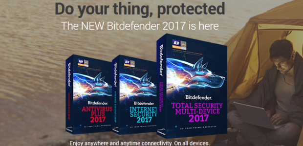 BitDefender Antivirus 2017 Discount Coupon