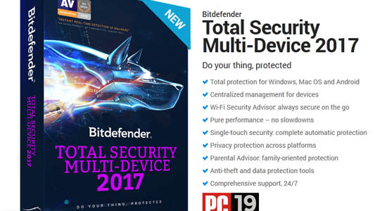 bitdefender total security multi-device 2017 overview