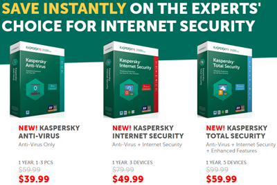 kaspersky 2017 products coupon codes promo