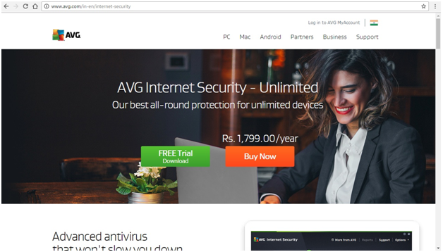 AVG Internet Security 2017 Coupon