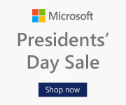 Microsoft president day sale 2017