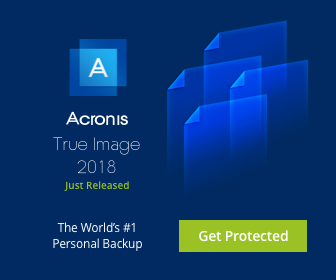 Acronis True Image 2018 Deals
