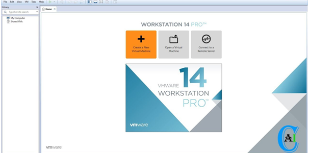 VMware Workstation 14 create a new virtual machine