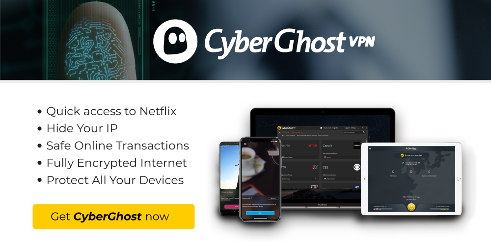 CyberGhost discount coupon