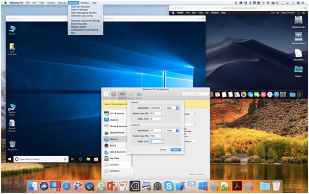 parallels desktop 14 for mac main screen