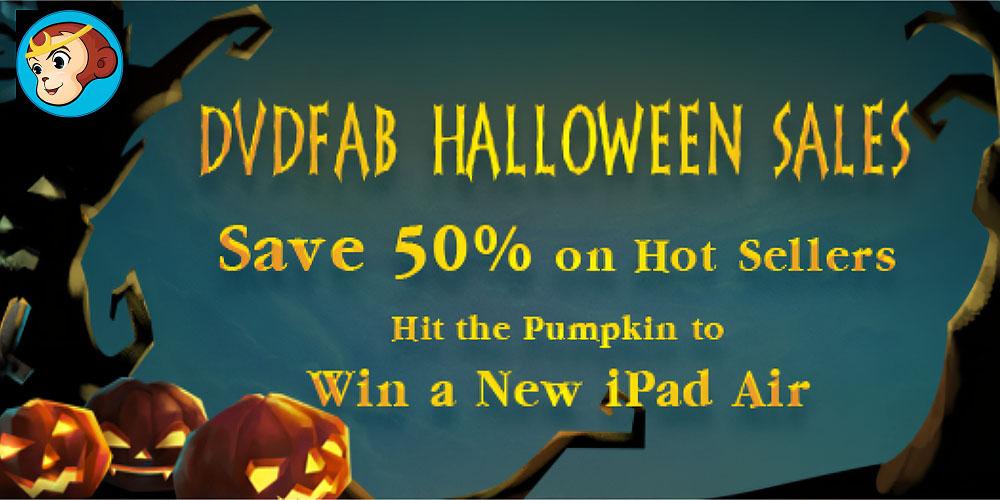DVDFab Halloween Promo Banner